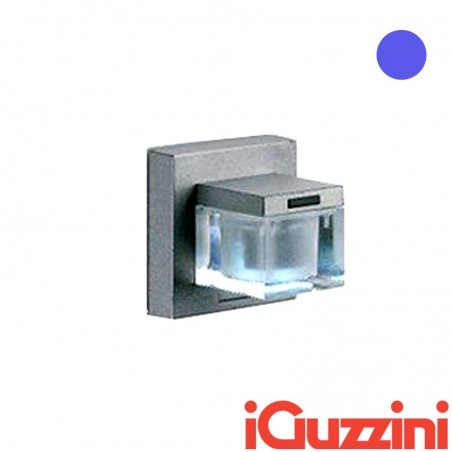 IGuzzini B605 Glim Cube LED Blu Applique Outdoor Wall
