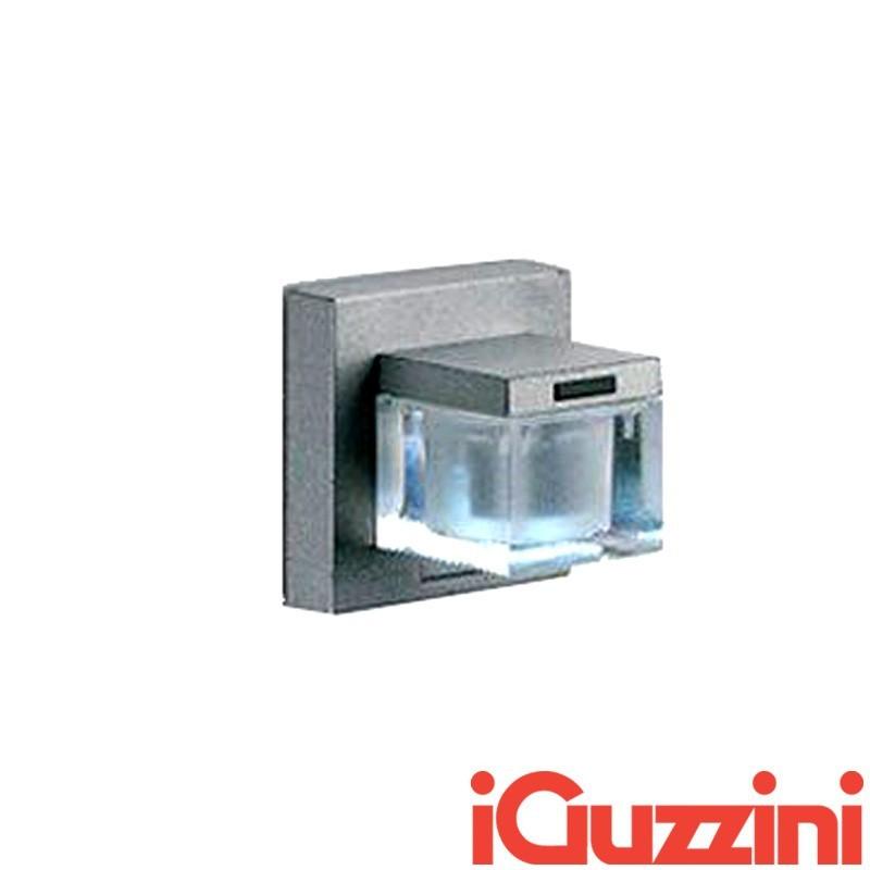 IGuzzini BB11 Glim Cube LED Luce Calda 3200K Applique da Parete Esterno