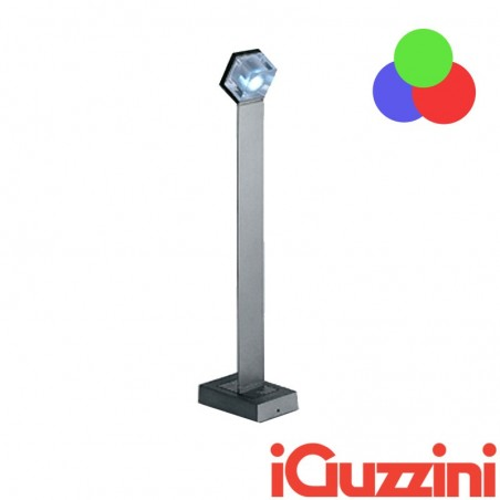 IGuzzini BC33 Glim Cube LED RGB change color outdoor bollard