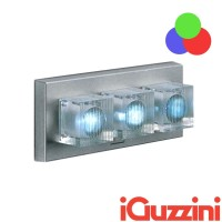 IGuzzini BC26 Glim Cube LED RGB Cambia colore Applique Parete Esterno