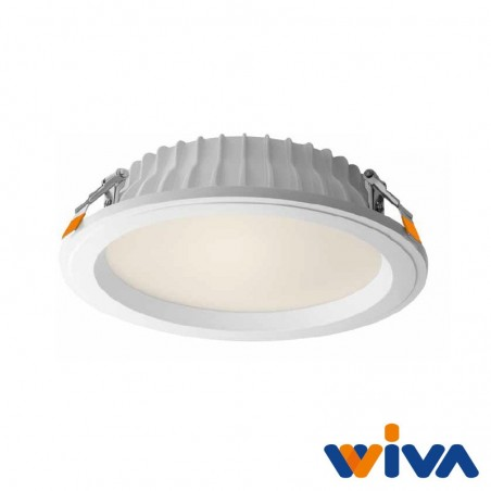 Wiva Ontario spot LED recessed 30W 3000K 2700lm Alta Luminosità Recessed Spot