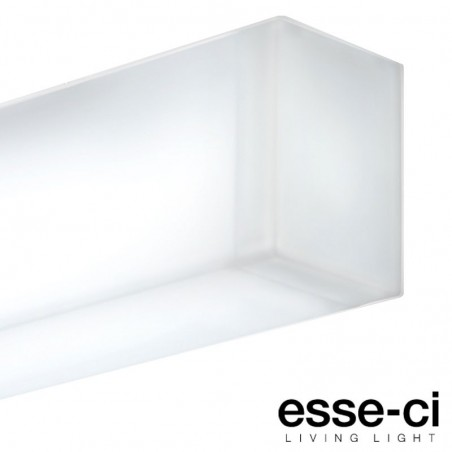 Esse-Ci Semplice 1x24W T16-D 3000K ceiling and wall lamp