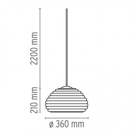 Flos Splugen Brau Lampada da Soffitto Sospensione F6500000