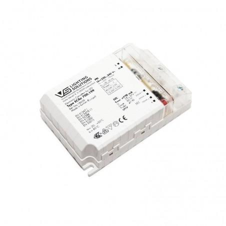 Vossloh Schwabe ECXe 700.199 186531 28-34-40W 500-700mA Alimentatore Ballast Elettronico LED