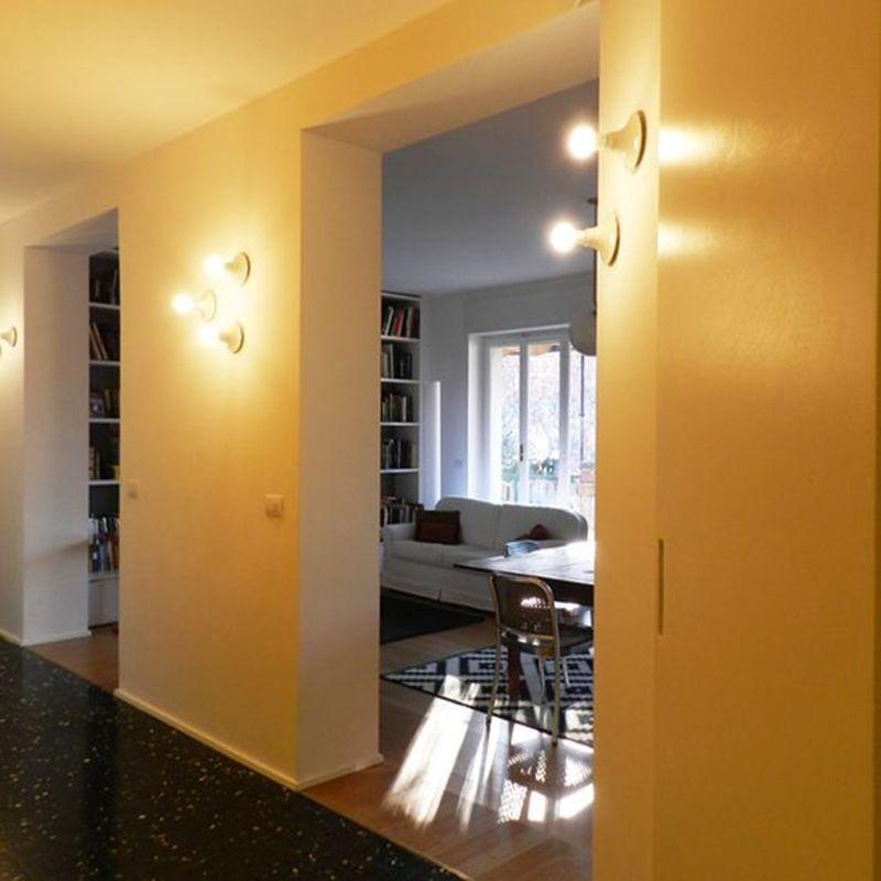 Artemide teti lampada da soffitto o parete applique bianco a048120 diffusione luce srl - Lampada parete artemide ...