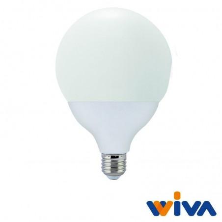 Wiva Globo LED D.120mm E27 15W-100W 1550lm 3000K Lampadina