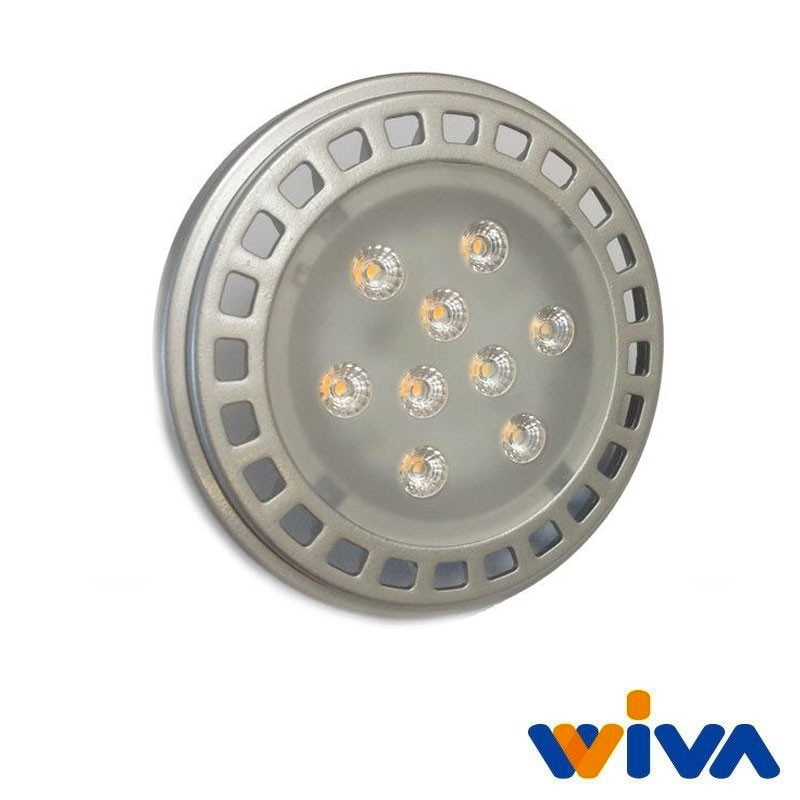 Wiva led g53 ar111 11w 65w 700lm 3000k 30 lampadina for Acquisto lampadine led on line