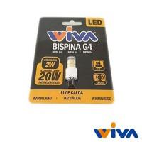 Wiva G4 LED Bispina Basic 2W-20W 195lm 3000K Lampadina