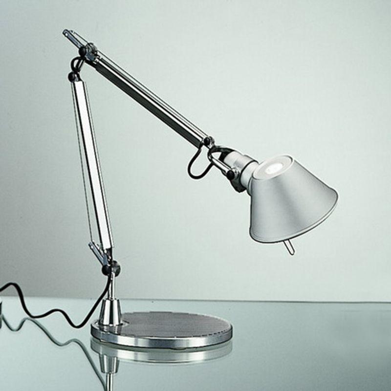 Artemide tolomeo led micro lampada da tavolo alluminio a011900 diffusione luce srl - Lampada da tavolo tolomeo ...
