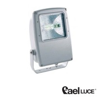 Fael Mach 3 Symmetric floodlight 150W grey RX7s metal halide