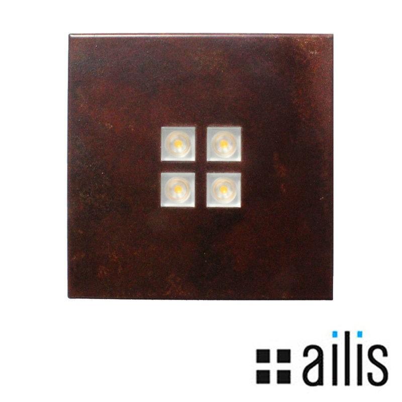 Ailis ZEN 1 LED 13W 2700K applique flush or surface rust