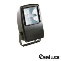 Fael Mach 2 Symmetric floodlight 70W metal halide lamps BLACK IP67