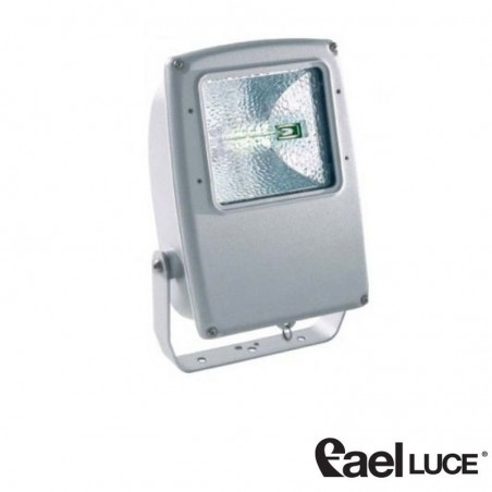 Fael Mach 2 Symmetric floodlight 70W gray metal halide