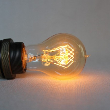 A60 bulb vintage drop 60w filament carbon e27
