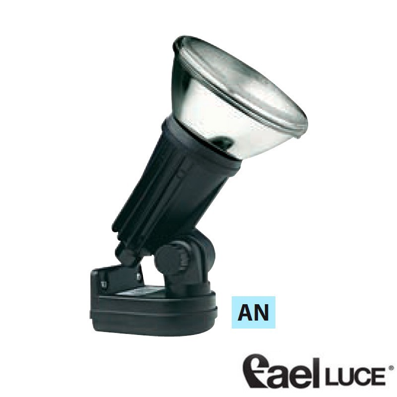 120W spotlight outdoor light with base wall / ceiling