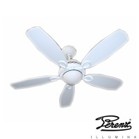 Perenz 7112B Fan 5 Shovels Ceiling Lamp R7s 100W White