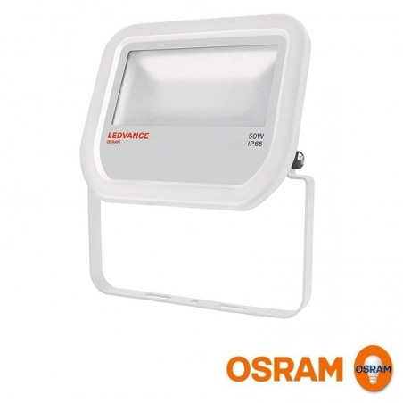 Osram LEDVANCE Floodlight LED 50W 3000K 5000lm Faretto Esterno IP65 Bianco