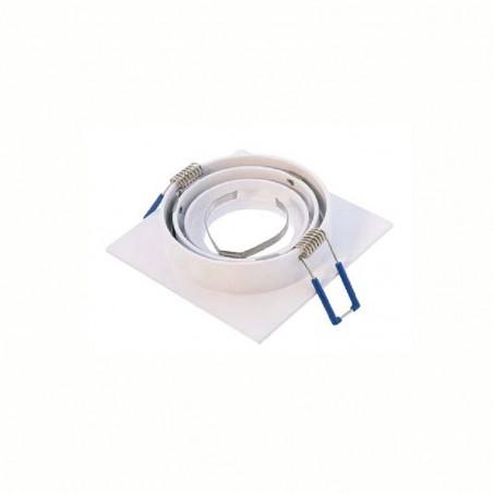 MOLVENO LIGHTING Tebe LED Adjustable Recessed Spotlight White MR11