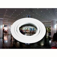 MOLVENO LIGHTING Eclypse LED Faretto Incasso Orientabile Bianco AR111