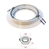 MOLVENO LIGHTING Eclypse LED Recessed Spotlight Adjustable White AR111