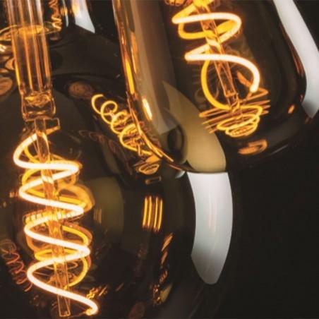LED Vintage Lamp ST64 E27 5W 2000K 250lm Amber Dimmer
