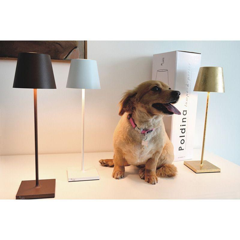 Ai Lati Poldina Led Table Lamp 2w 3000k Rechargeable Ip54