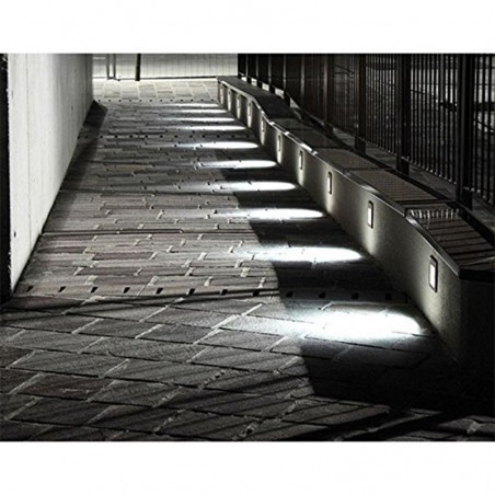 Cariboni FIN XS LED 4W 300lm 3000K Marker Wall Recessed Spotlight White