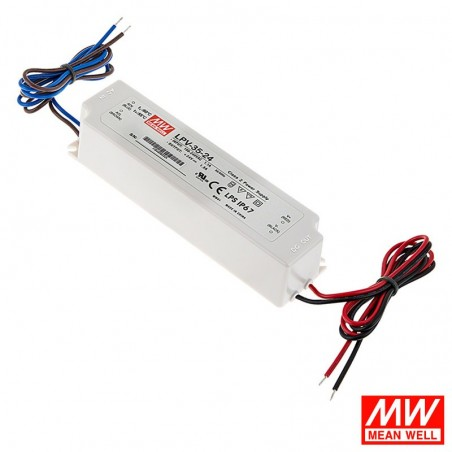 Meanwell LPV-35-12 35W 12V 3A IP67 LED Power Supply Driver
