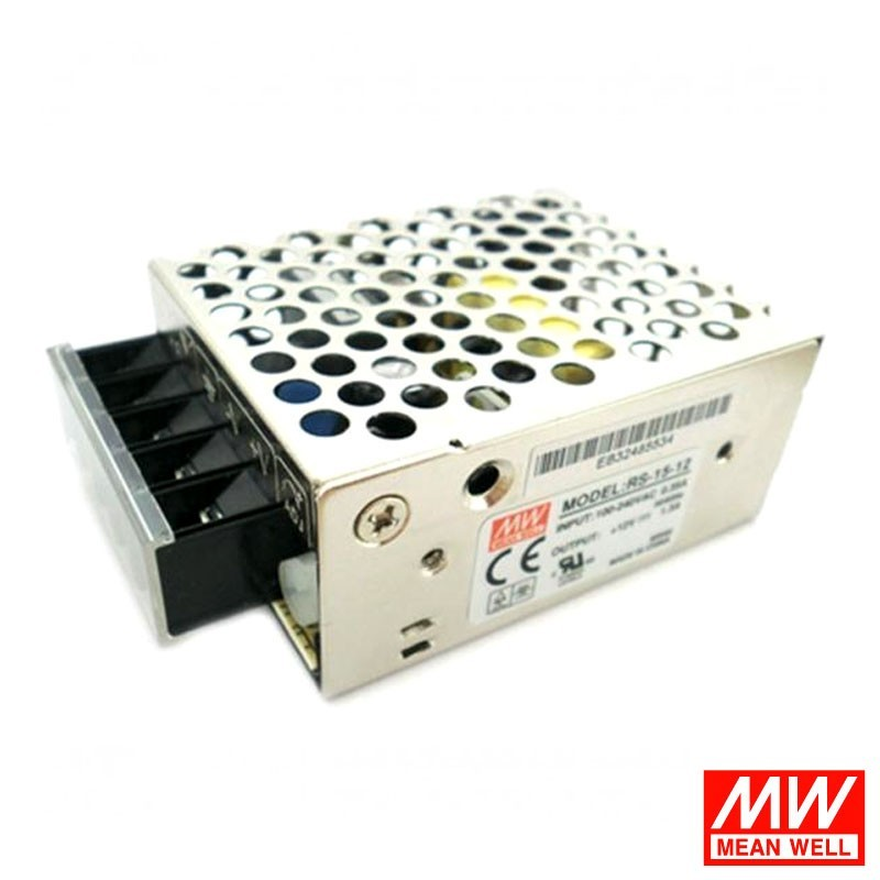 Meanwell RS-15-5 15W 5V 3A LED Power Supply Driver