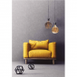 LED Curved Vintage Lamp Globe D.125 BUMPED E27 5W 2000K 250lm Amber Dimmer irregular glass