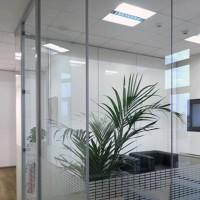 Esse-Ci Ambiente Soft 2x55W Plafoniera da Incasso Bianca