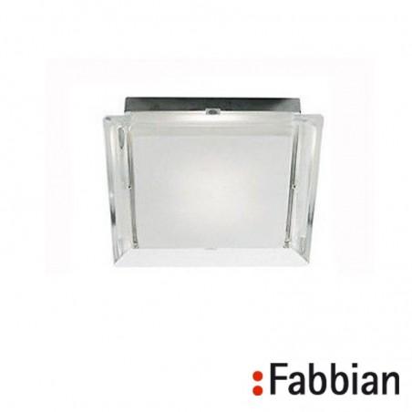 Fabbian Luna Crystal Wall / Ceiling Lamp