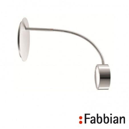Fabbian Sette W Applique / Lampada da Parete Alluminio
