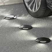 Floor spotlights for outdoor selling