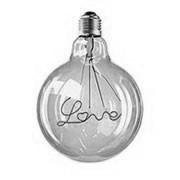 Decorative filament light bulbs