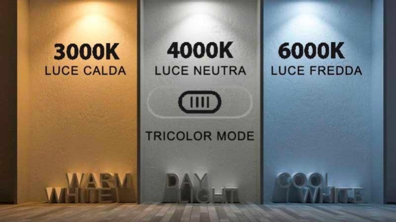 Tricolor Mode By Lampo Lighting