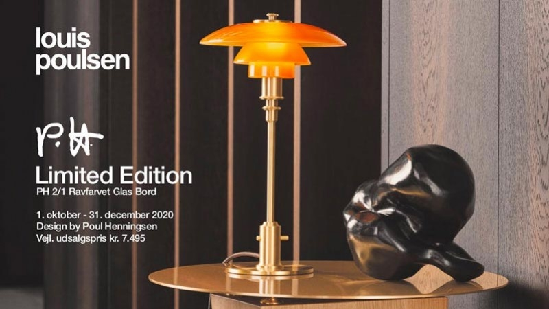 Limited Edition PH 2/1 Table lamp